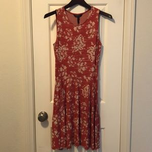 BCBG Maxazria fit and flare dress